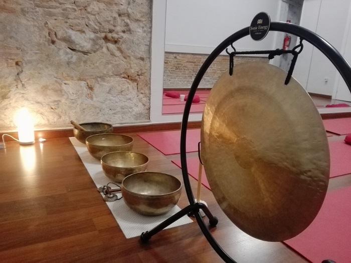 sonoterapia gong y cuencos tibetanos